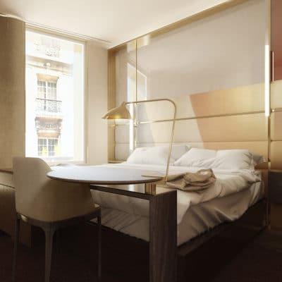 HOTEL A MONTMARTRE . Paris